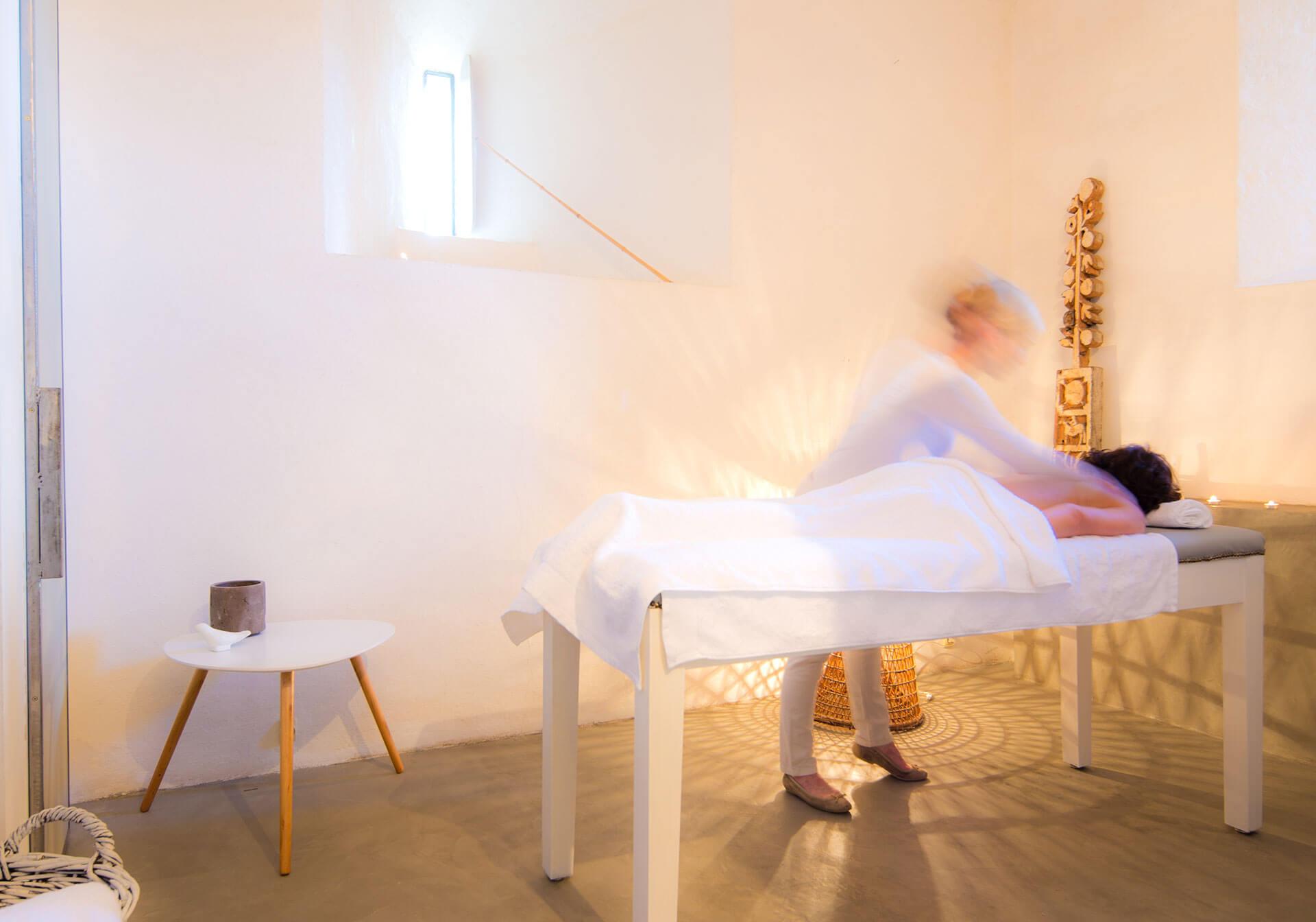 Bien-être et Yoga, massage