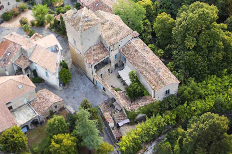 Le Château d'Uzer, la douceur de vivre