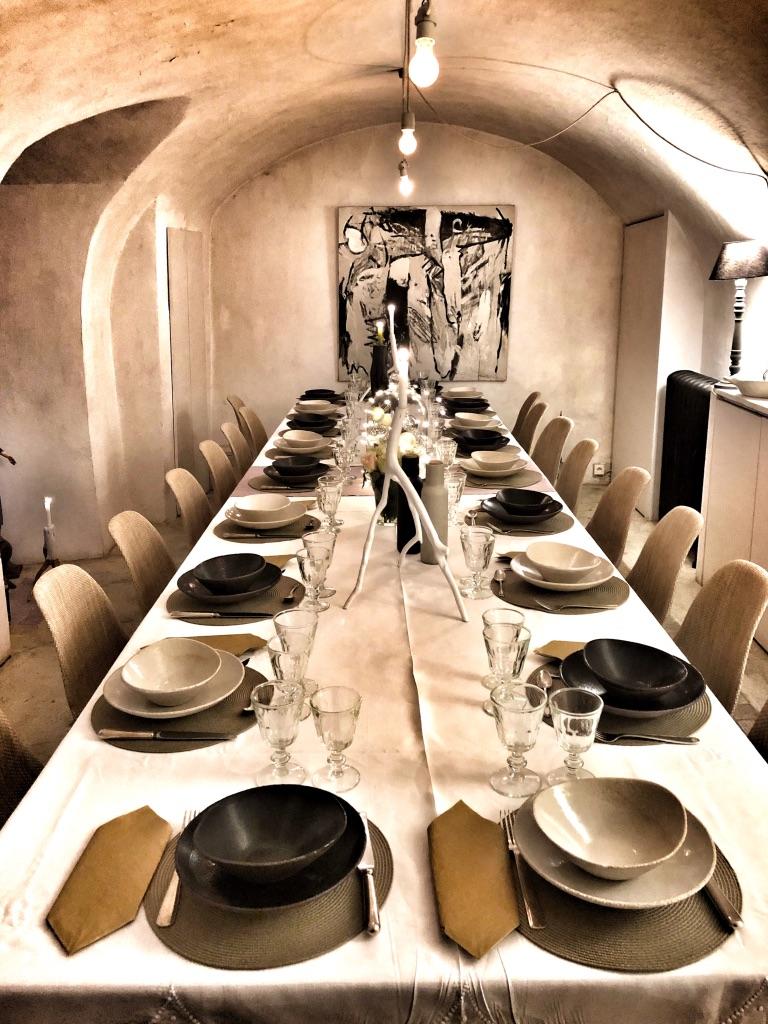 La table d'hôtes du Château d'Uzer